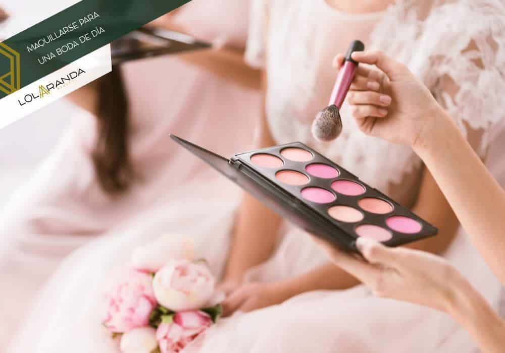 como maquillarse para una boda de dia